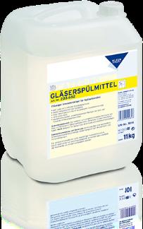 GLÄSERSPÜLMITTEL - pohármosó mosogatószer