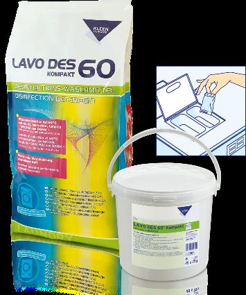 LAVO DES 60 KOMPAKT - fertõtlenítõ hatású mosószer
