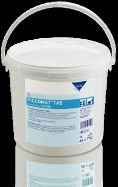 PICCOMAT TAB - gépi tisztítószer
