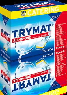 TRYMAT ALL-IN-ONE - gépi mosogatógép tabletta
